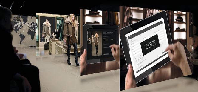 Burberry présente un concept store immersif pour une expérience digitale