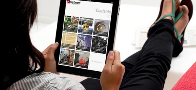 Flipboard votre social magazine sur iPad & iPhone