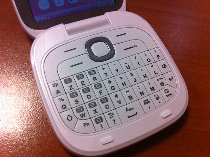 Alcatel One Touch 810 - Clavier