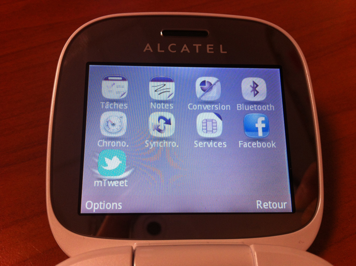 Alcatel One Touch 810 - Logiciels
