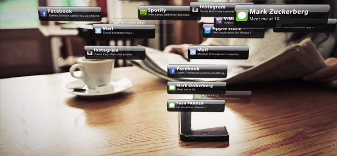 Linkility s'amuse avec les notifications d'iPhone et lance sa campagne virale