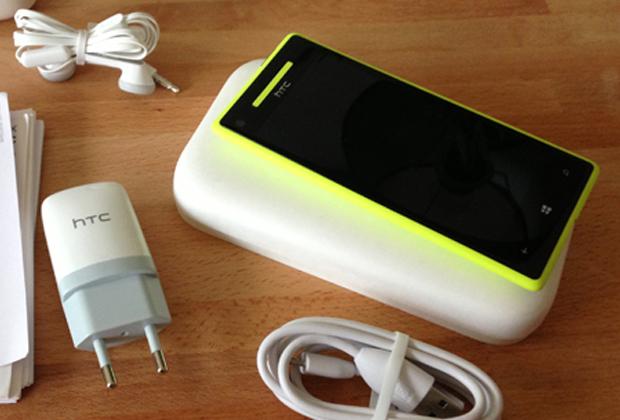 Prise en main du HTC 8X