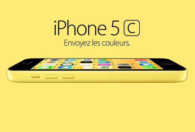 Apple fait le plein de couleurs avec son nouvel iPhone 5C
