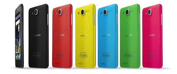 Acatel One Touch IDOL Ultra - couleurs V2