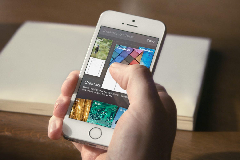 Facebook dévoile Paper, sa nouvelle application dédiée aux news