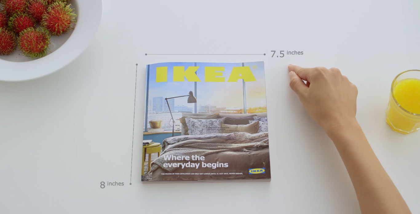 IKEA parodie Apple et utilise le Marketing conversationnel pour lancer son catalogue