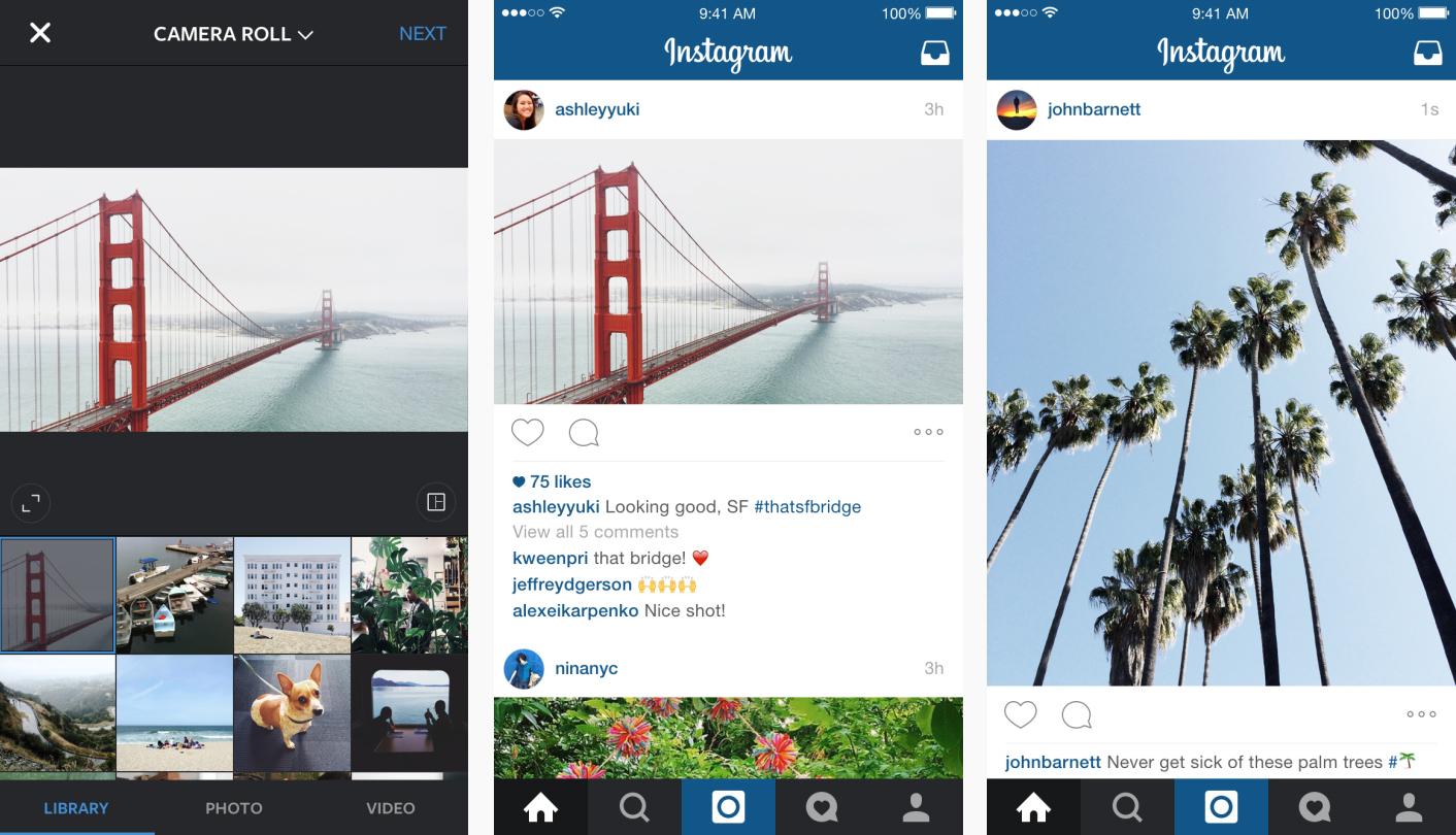 instagram introduit de nouveaux formats pour ses images 2