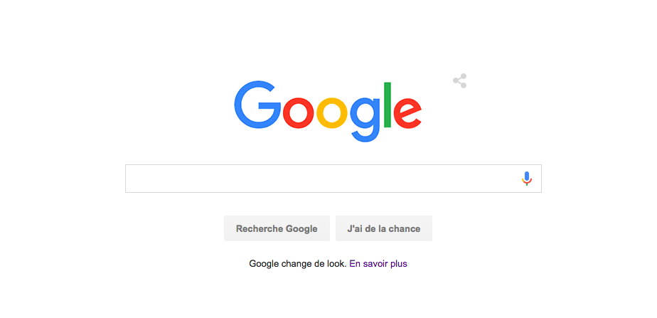 Google change de look !