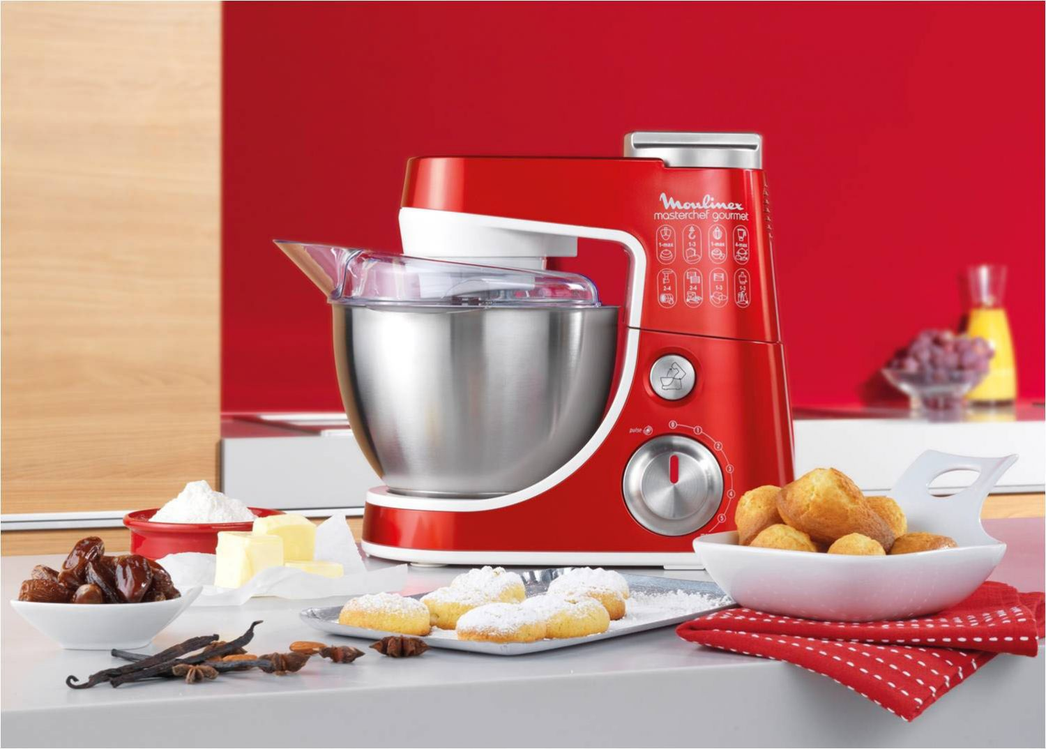 Moulinex Kitchen Machine - Masterchef Gourmet 2
