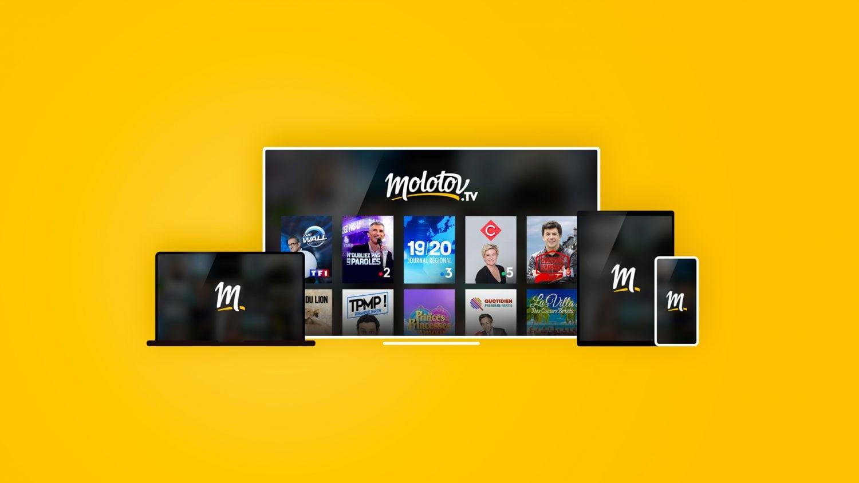 Molotov : l'application qui propose toute la télé Française gratuitement et à la demande